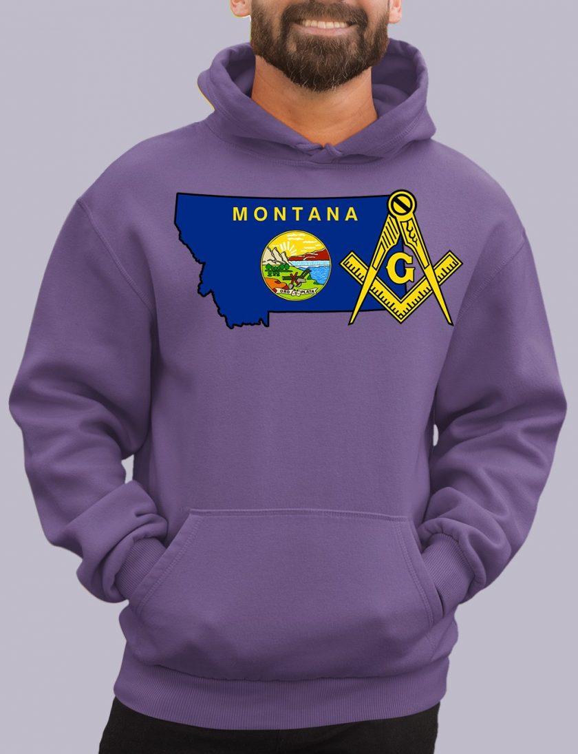 montana purple hoodie