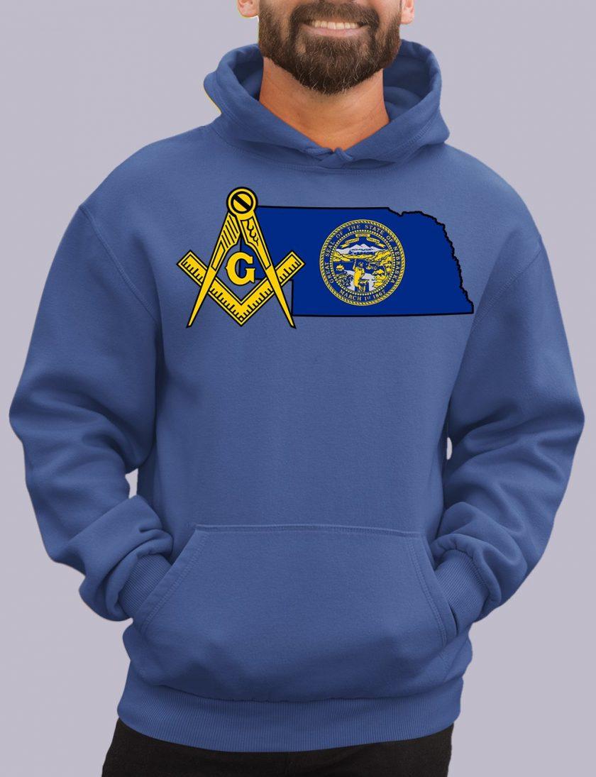 nebraka royal hoodie