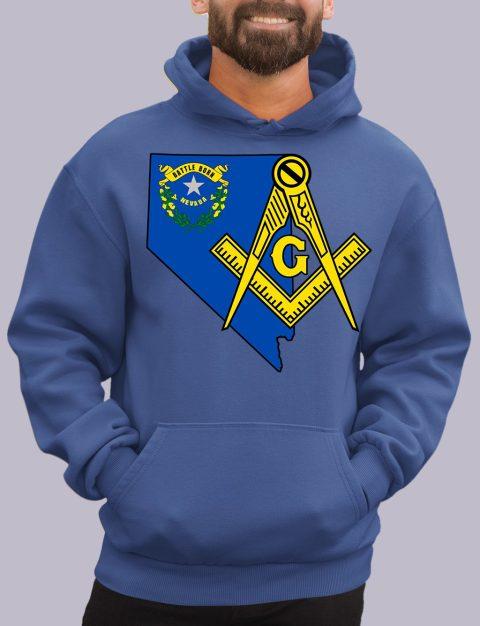 Nevada Masonic Hoodie nevada royal hoodie