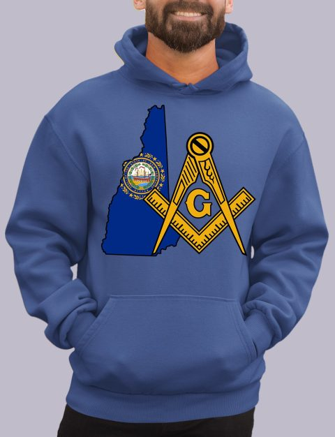 New Hampshire Masonic Hoodie new hampshire royal hoodie