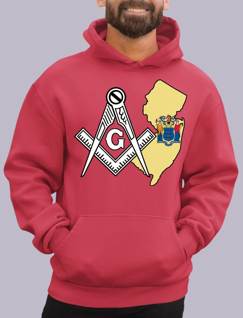 new jersey red hoodie