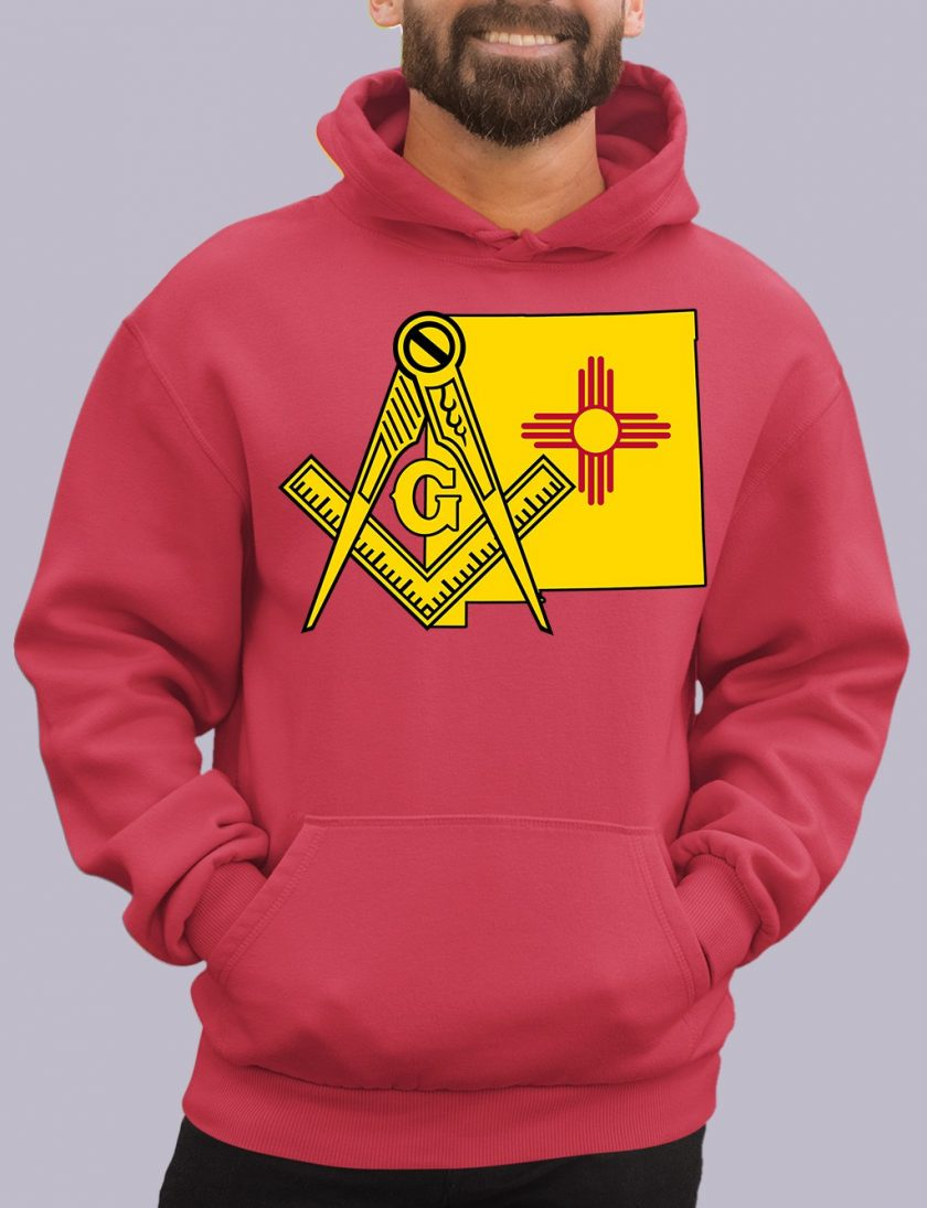 new mexico red hoodie