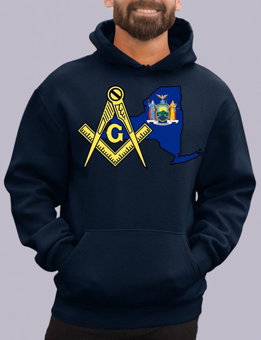 new york navy hoodie