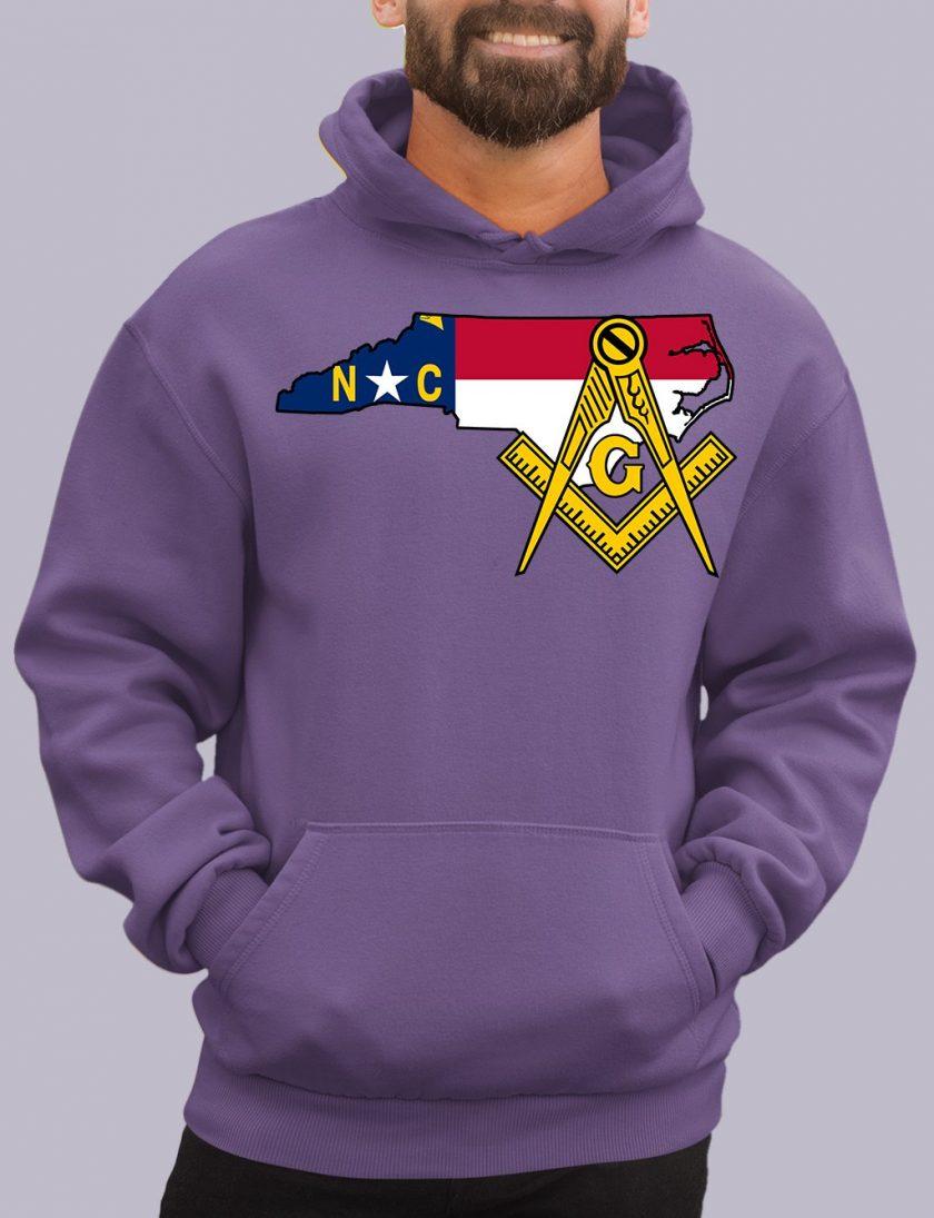 north carolina purple hoodie