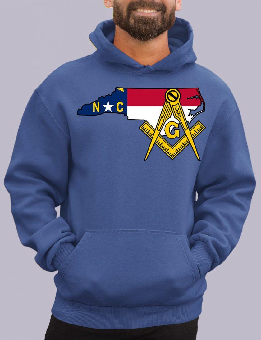north carolina royal hoodie