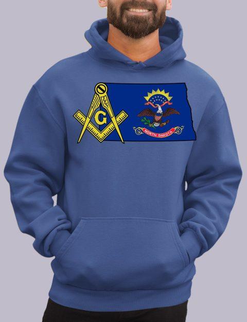 North Dakota Masonic Hoodie north dakota royal hoodie