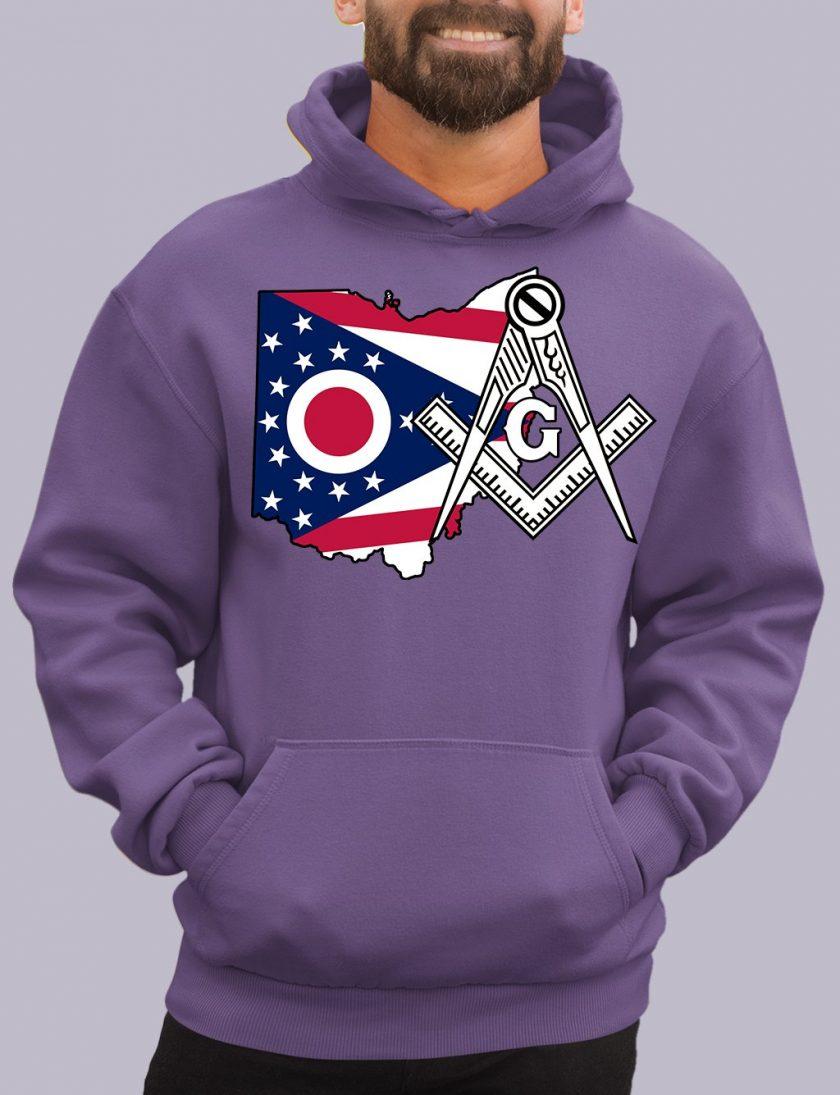 ohio purple hoodie