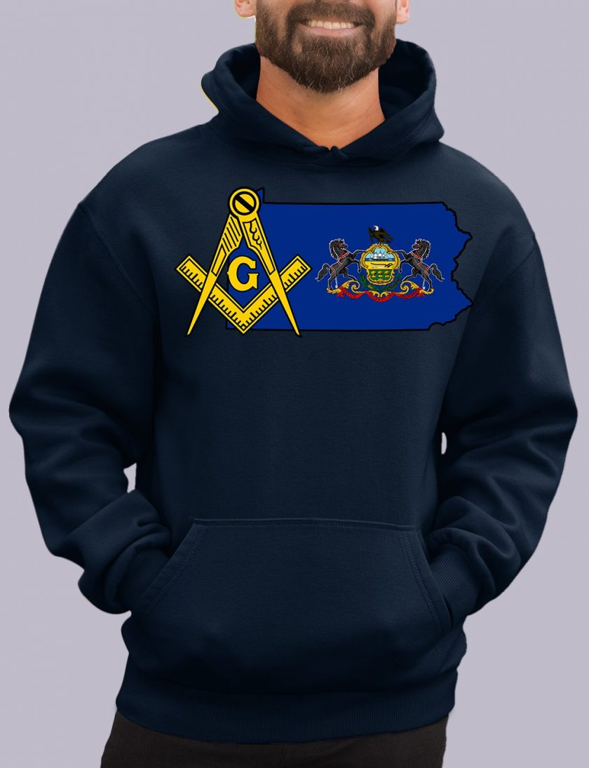 pensylvania navy hoodie