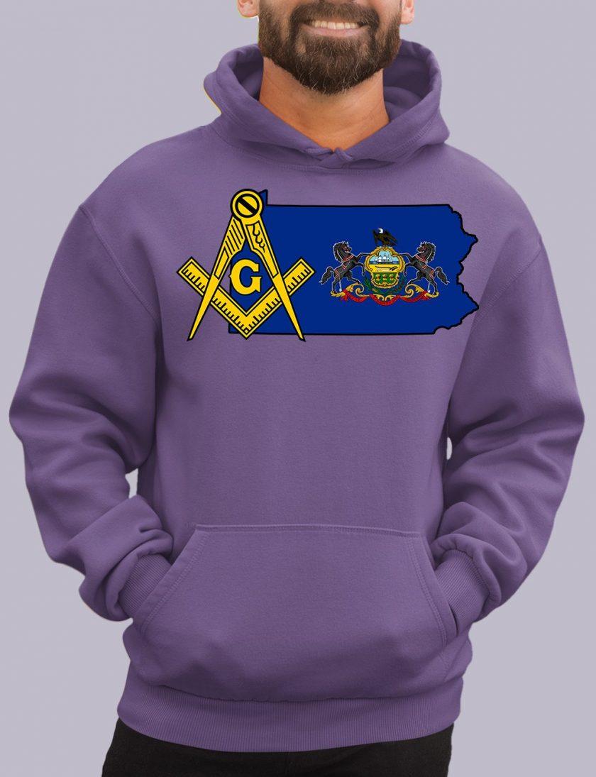 pensylvania purple hoodie