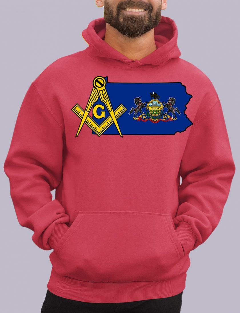 pensylvania red hoodie