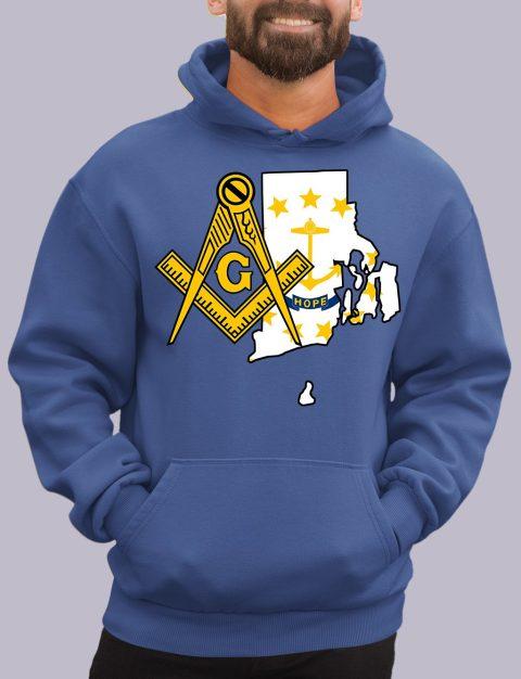 Rhode Island Masonic Hoodie rhode island royal hoodie