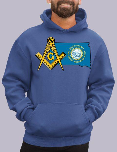 South Dakota Masonic Hoodie south dakota royal hoodie