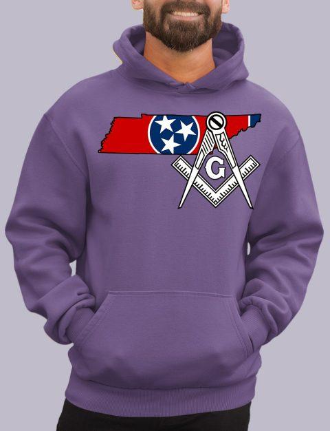 Tennessee Masonic Hoodie tenessee purple hoodie
