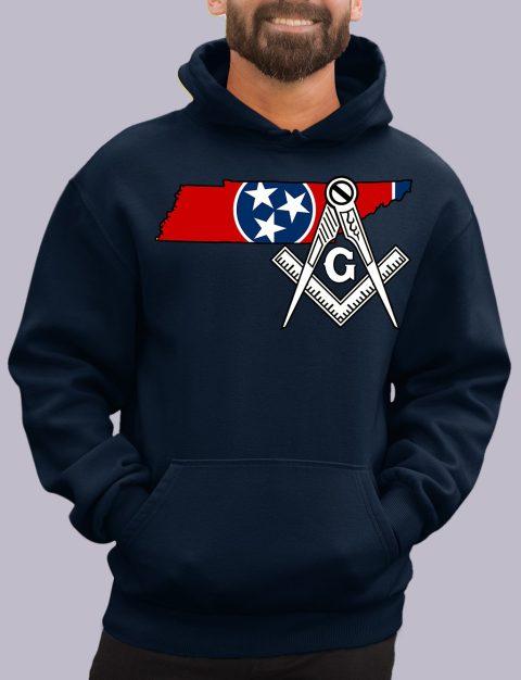 Tennessee Masonic Hoodie tennessee navy hoodie