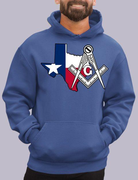 Texas Masonic Hoodie texa royal hoodie