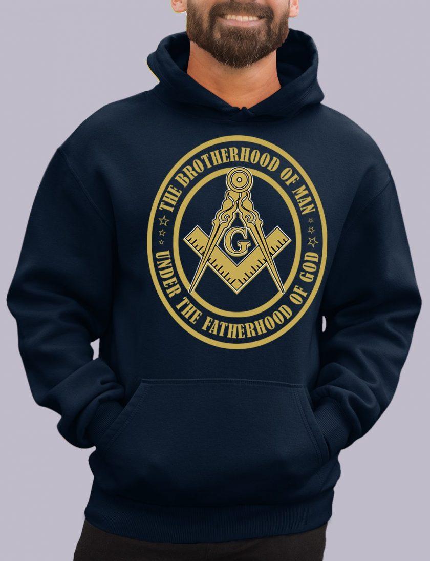 the brotherhood navy hoodie