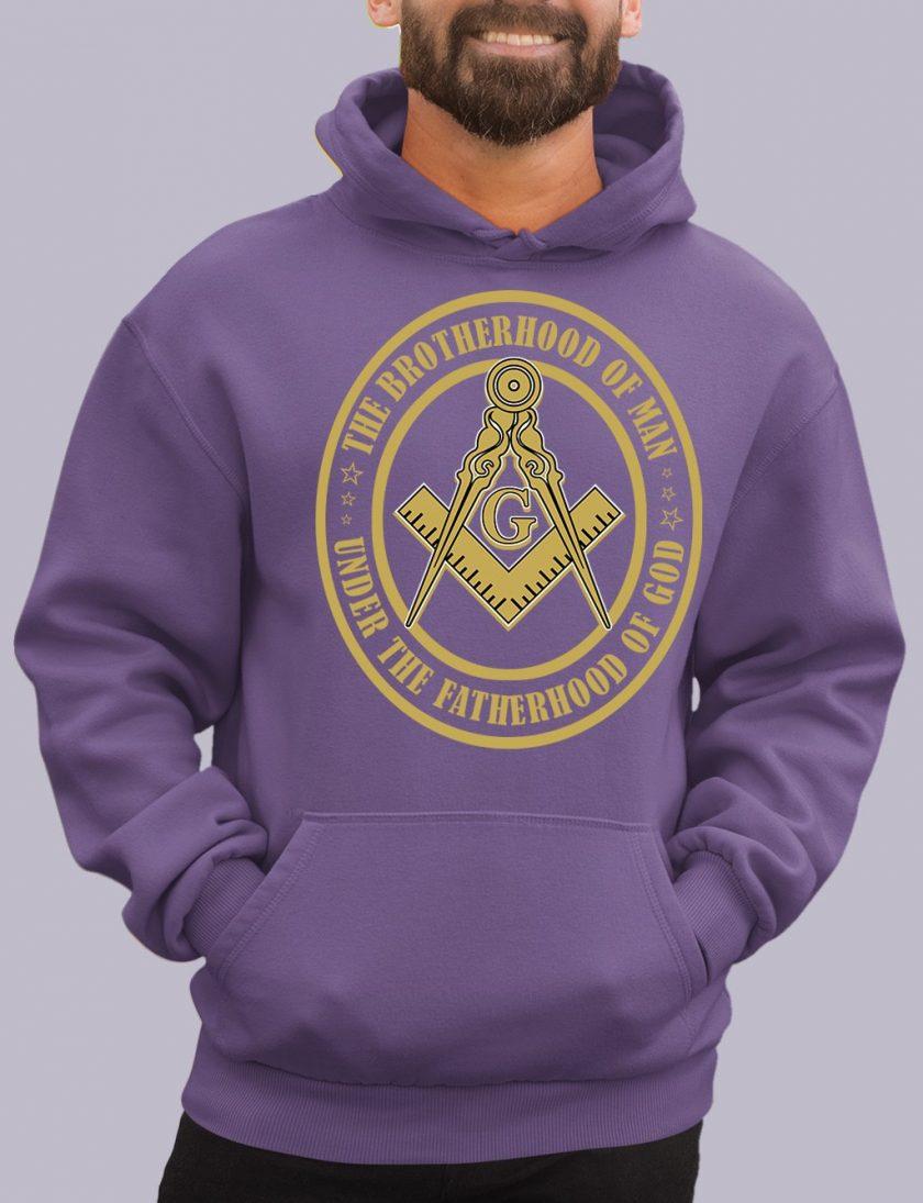 the brotherhood purple hoodie