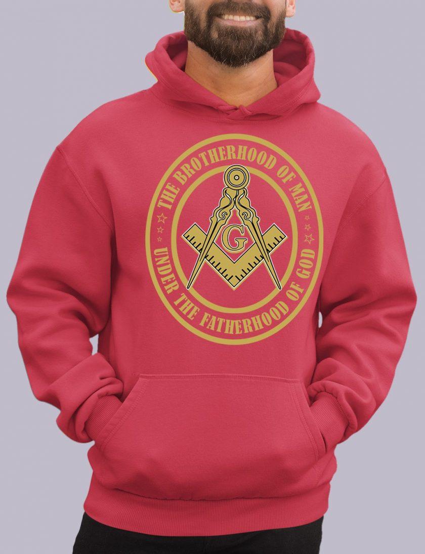 the brotherhood red hoodie