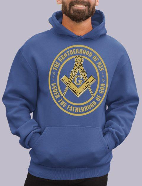 The Brothehood Of Man Masonic Hoodie the brotherhood royal hoodie