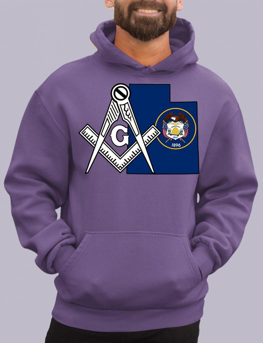 utah purple hoodie