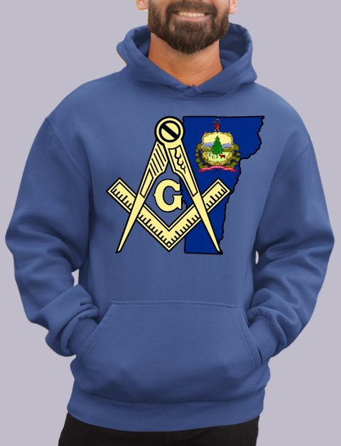 Vermont Masonic Hoodie vermont royal hoodie