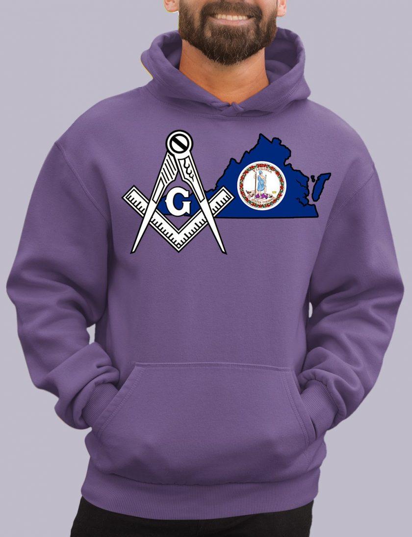 virginia purple hoodie