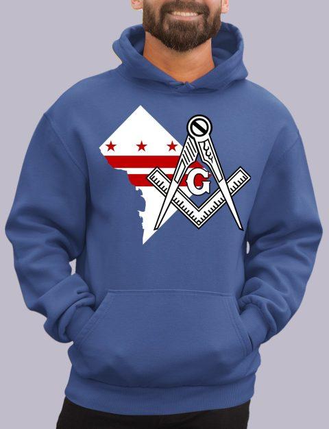 Washington DC Masonic Hoodie washington dc royal hoodie