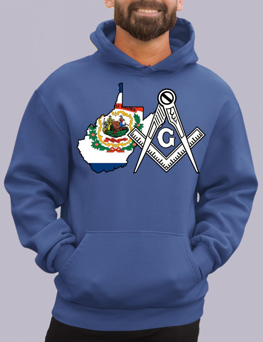 west virginia royal hoodie