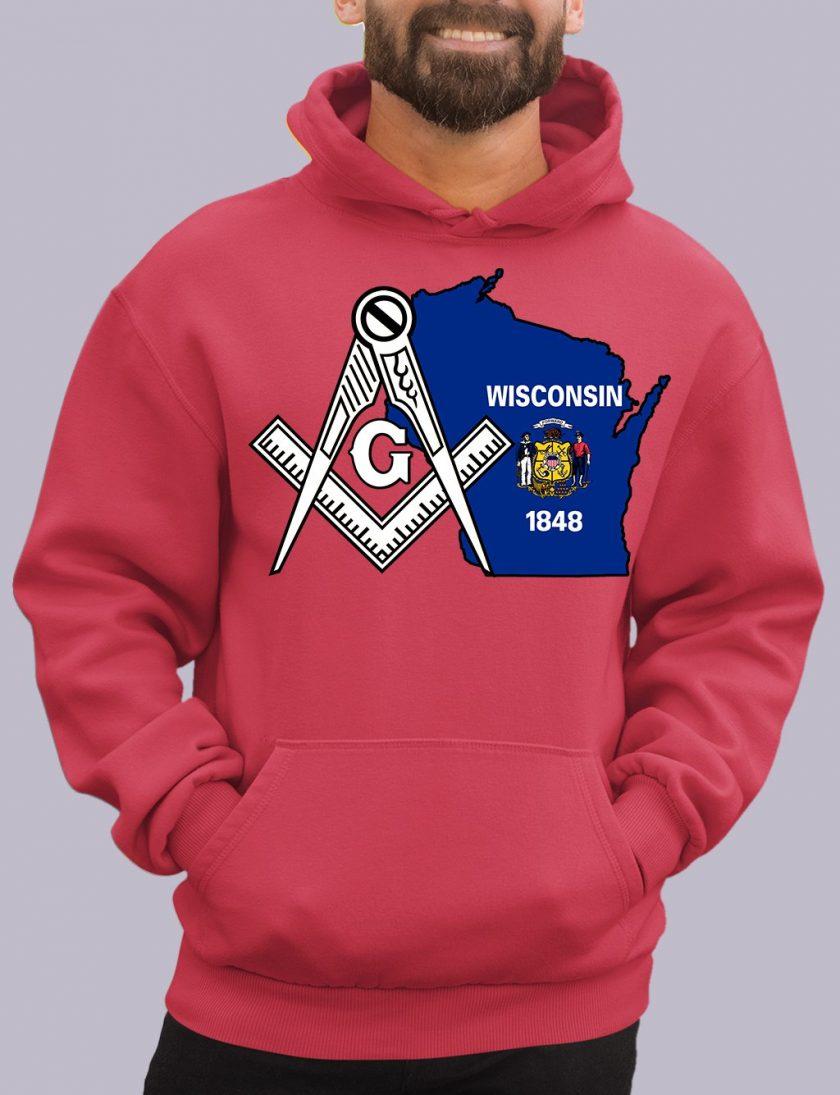 wisconsin red hoodie