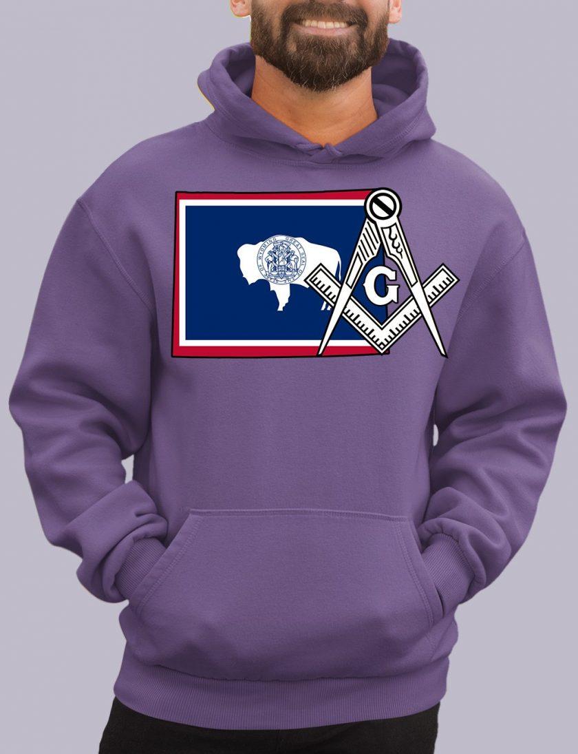 wyoming purple hoodie