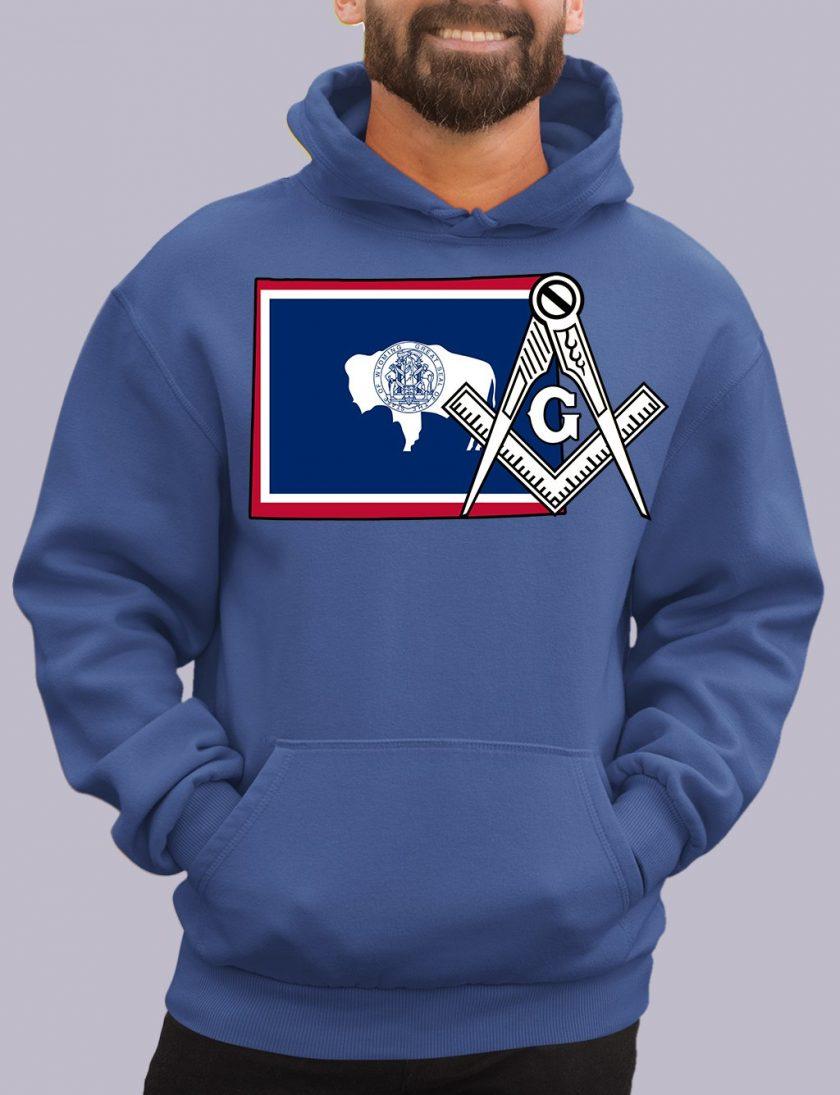 wyoming royal hoodie