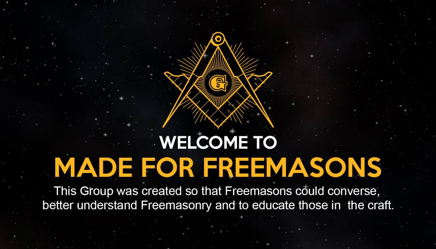 Made for Freemasons Facebook Group