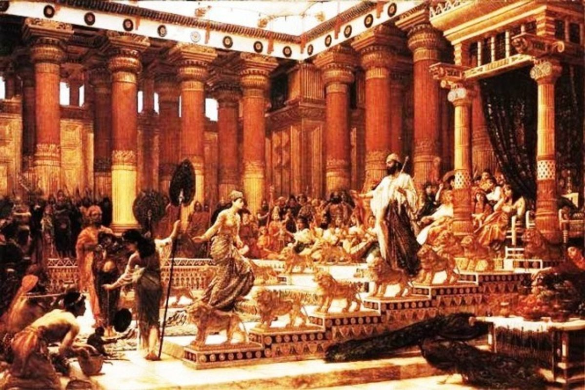 12 Facts about King Solomon's Temple The palace of king solomon
