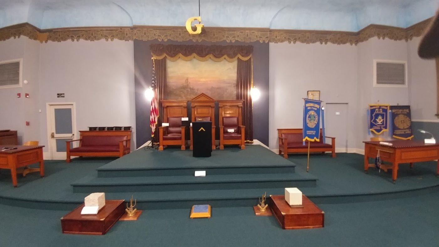 Masonic Lodge Room 2