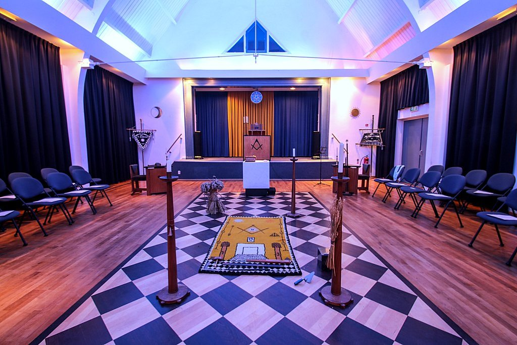 masonic lodge room