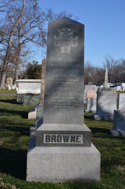 Arlington National Cemetery and Freemasonry: Revisited arlington brown stone