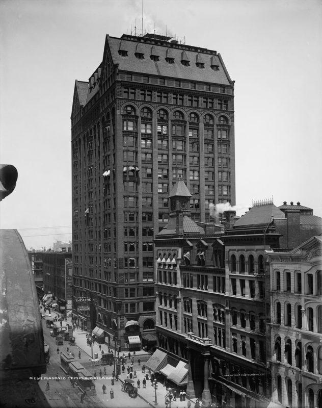 Detroit Masonic Temple – The world's largest Masonic temple 2 1