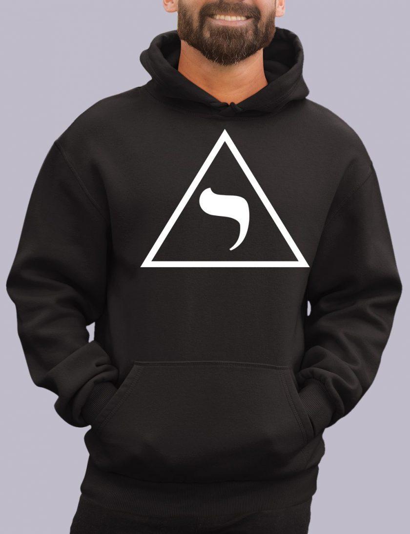 14th degree black hoodie 1