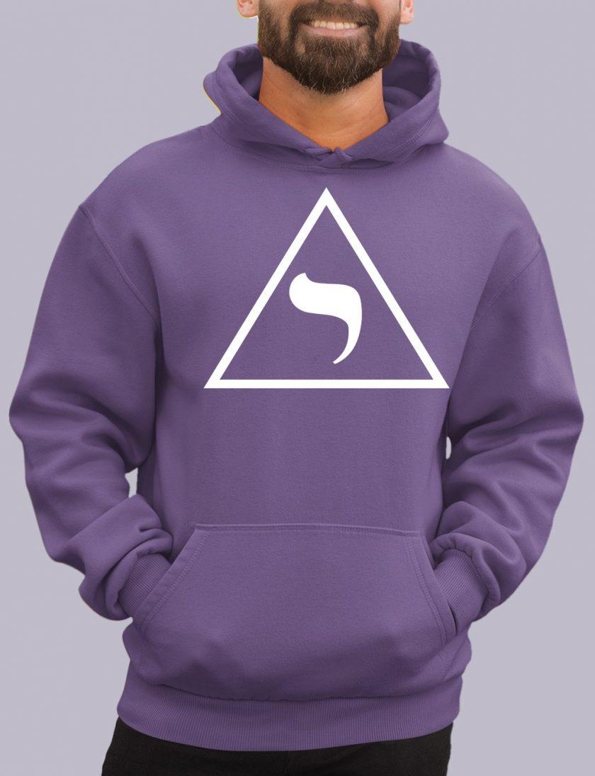14th degree purple hoodie
