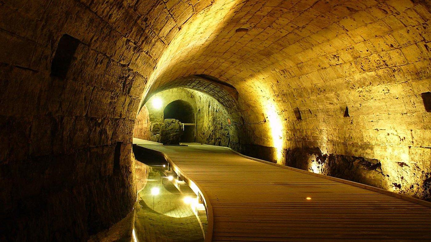 A Knights Templar's secret tunnel has been hidden for 700 years
