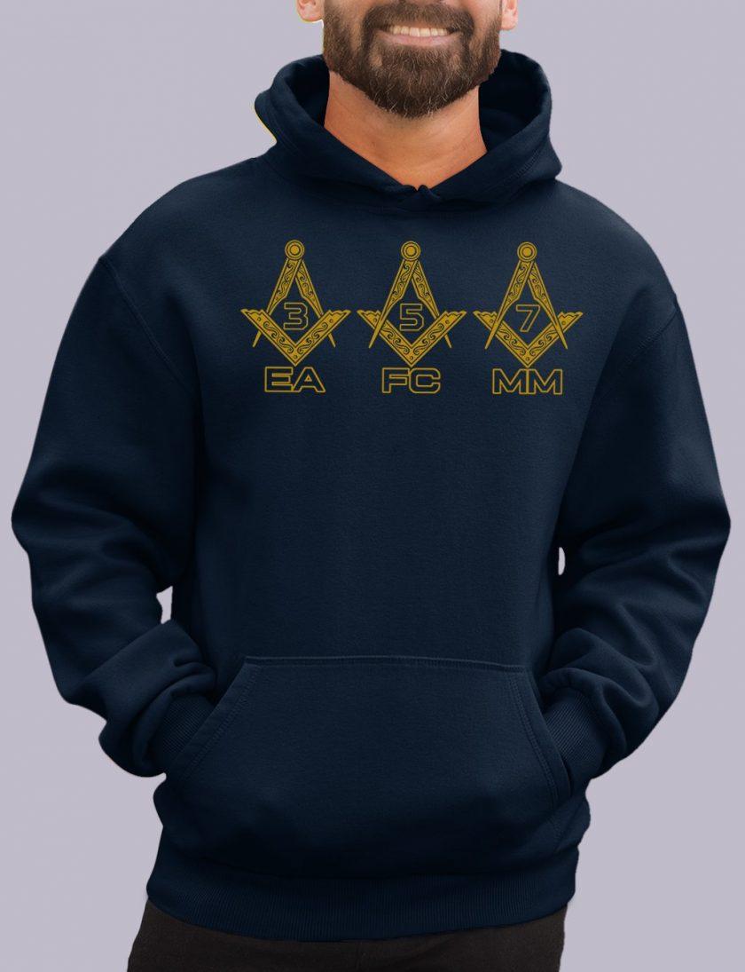 EA FC MM navy hoodie