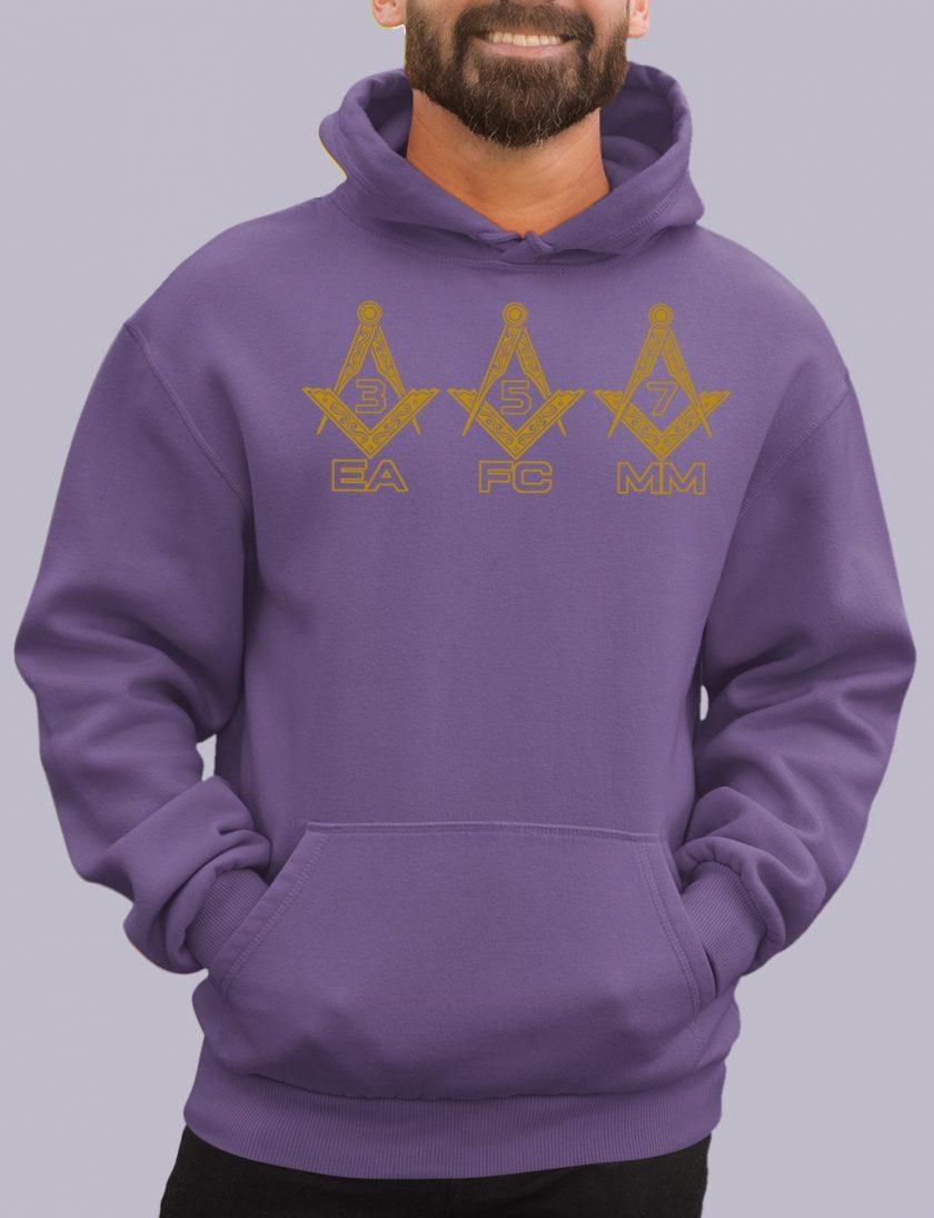 EA FC MM purple hoodie