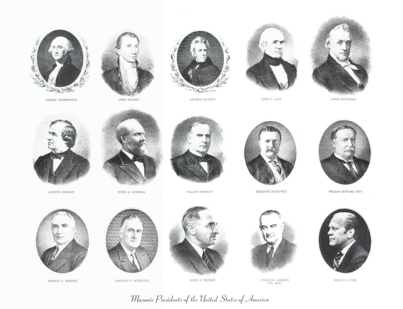 The 15 US Presidents Who Were Also Members of the Freemason Society