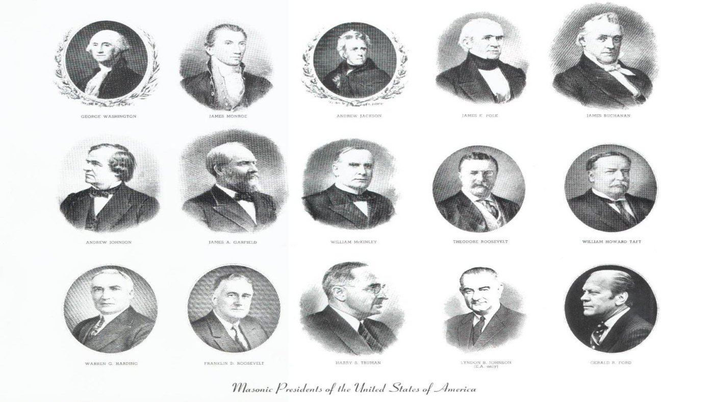 The 15 US Presidents that were Freemasons