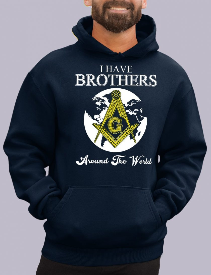 i have brothers navy hoodie