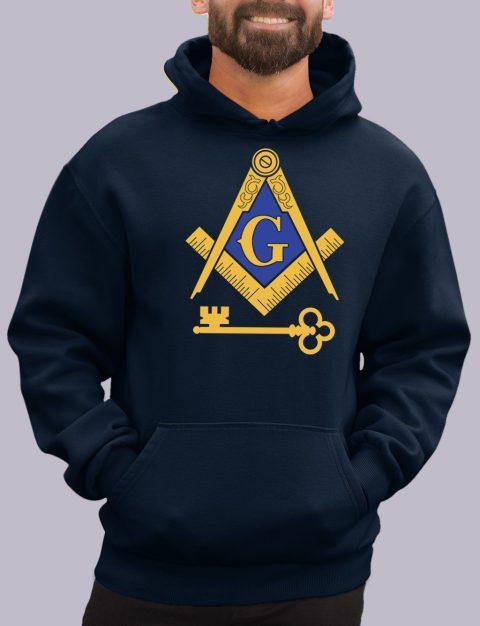 International Masons Masonic Hoodie international navy hoodie