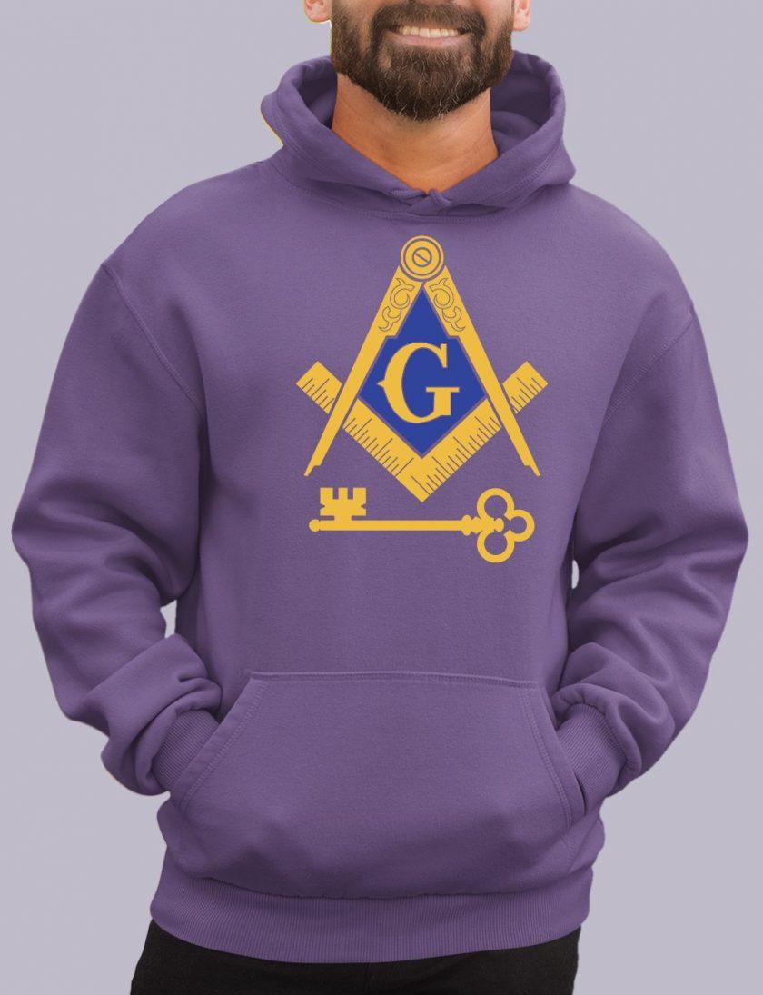 international purple hoodie