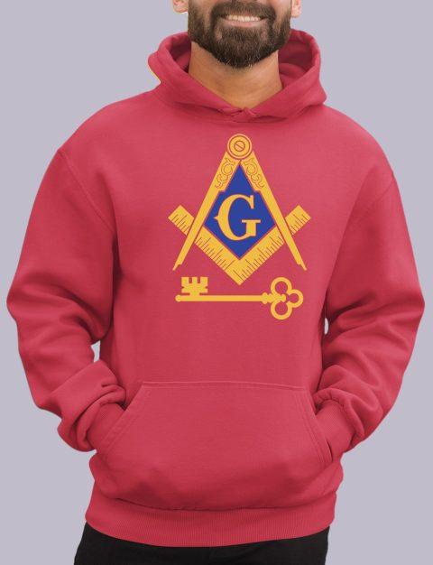 International Masons Masonic Hoodie international red hoodie