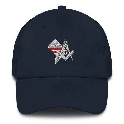 Washington DC Masonic Hat Embroidery mockup 0963f401