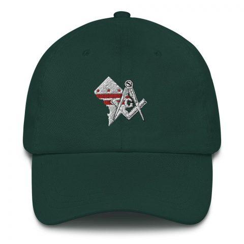 Washington DC Masonic Hat Embroidery mockup 1b1214d4